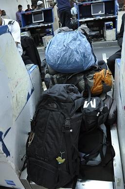 バックパック私たち6人と旅してきた6個の