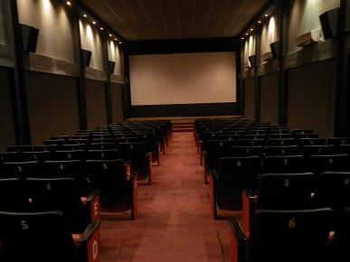 100人収容できる映画館