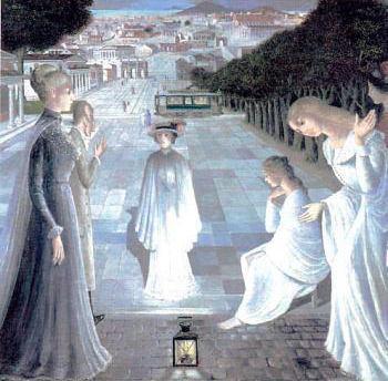 a《夜の使者》 1980年 ポール・デルヴォー財団
