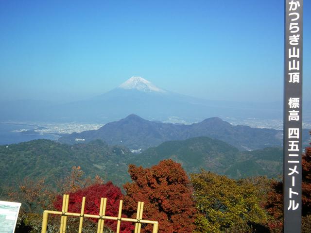 葛城山から見た富士山2