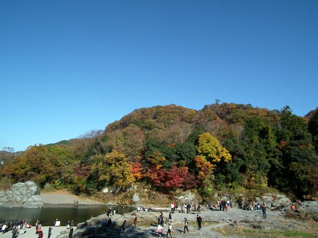 2014長瀞 渓谷の紅葉(5)