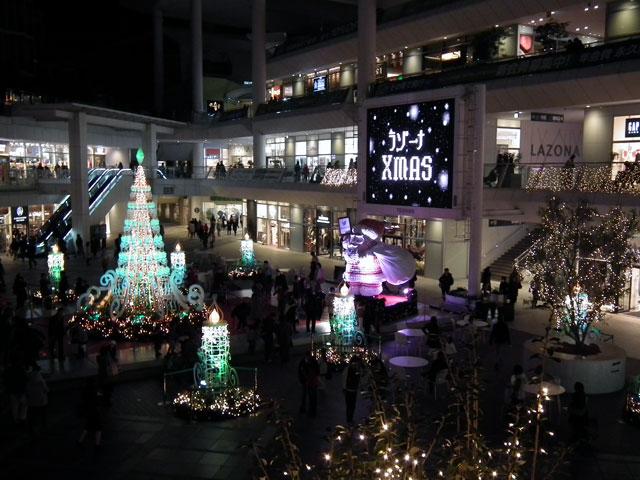 2014ラゾーナ川崎のイルミネーション(3)