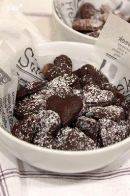 バレンタインクッキーチョコ