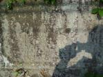 福知山衛戍病院の石垣銘板