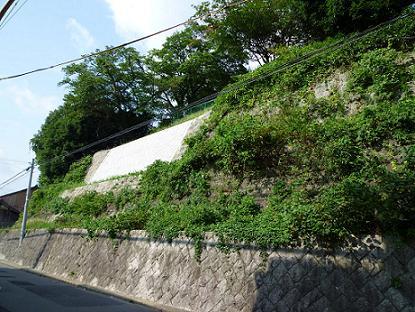 福知山衛戍病院の石垣