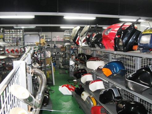 ジャンクヤードちくわ 岐阜県 バイク用品店