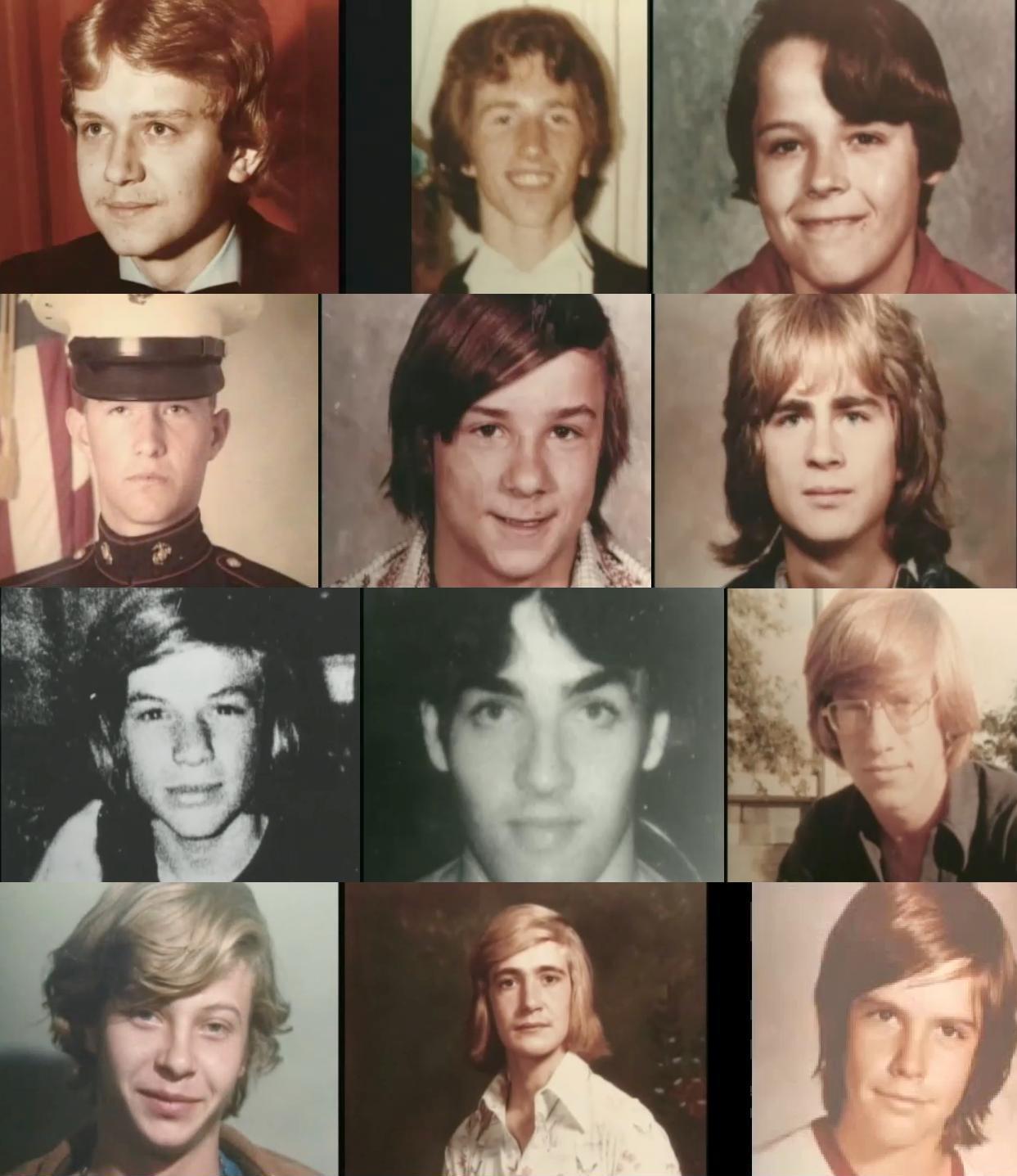 被害者の少年たち