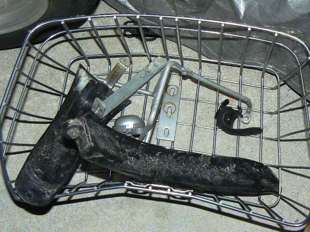 マウンテンバイクの排除部品