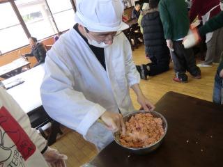 20130303ひな祭り調理実習