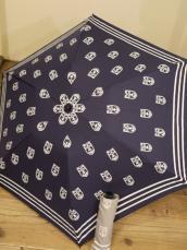 アンカーモノグラムアンブレラ(折りたたみ傘)