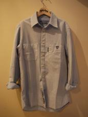 BB インディゴDYEDオックスL/Sシャツ