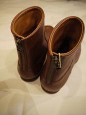 KAPITAL オイルレザー海軍支給革靴