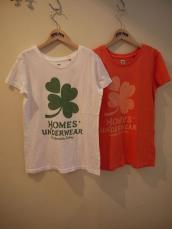 HOMES' クローバーレディースTシャツ