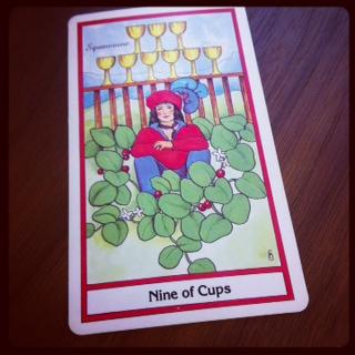 nine of cups