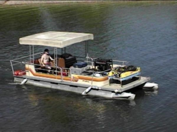 Don't Build Your Party Boat Without Pontoon Boat Plans | ysopaxif