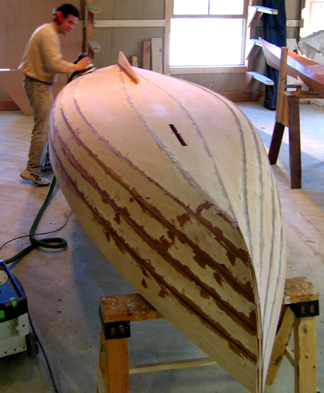 how to make a small wooden boat