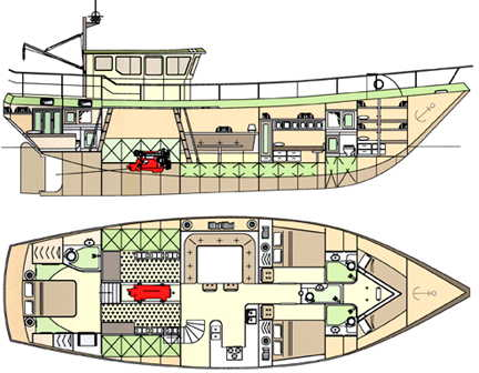 Free sailing boats, wood trawler boat plans, rocking boat toy plans