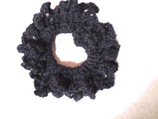 パプコーン編みのしゅしゅ