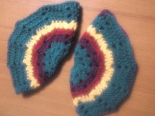 ビタミンカラーのモチーフ編み5