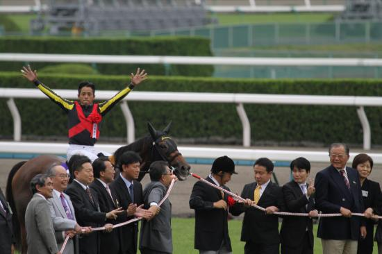 秋華賞表彰式1