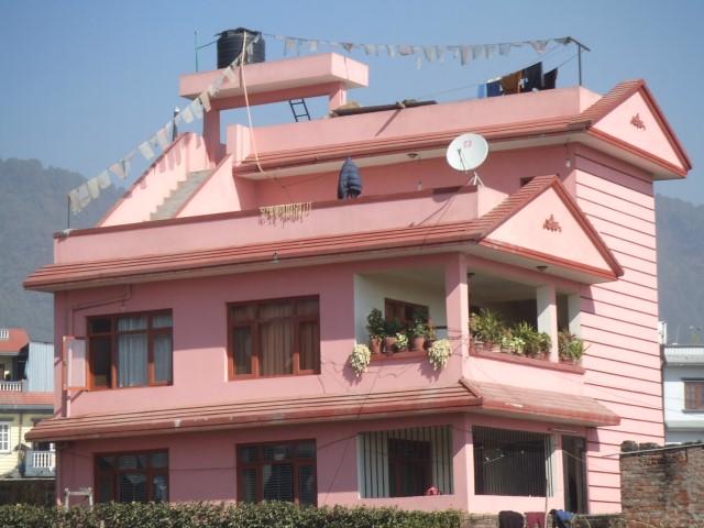 かわいらしい家