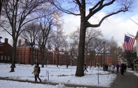 130102 assyuku Harvard in snow
