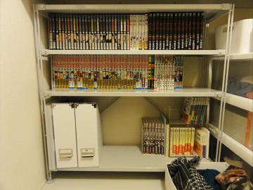 本棚にしてみました