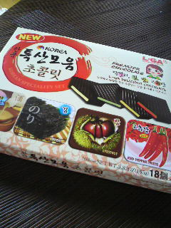 韓国 チョコ