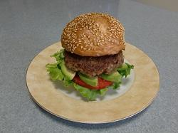 当社豊後牛ハンバーガー