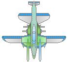 敵機15-2 青巫女カラー