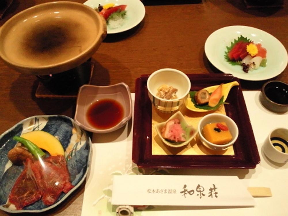 和泉荘夕食