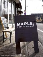 MAPLE COFFEE&DONUT◇看板