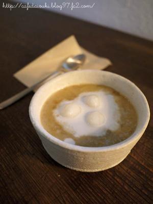 cafe metsä◇緑豆のお汁粉