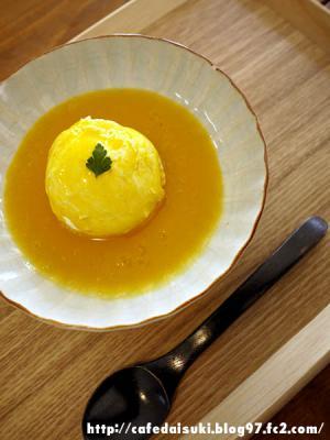 お昼ごはんとお茶 日月◇アルフォンソマンゴーの水切りデザートヨーグルト