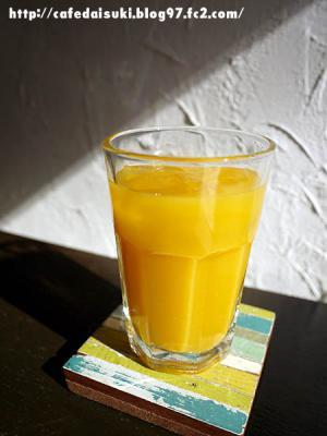 お昼ごはんとお茶 日月◇うんしゅうみかんジュース