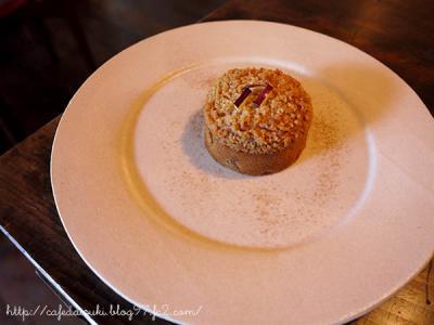 喫茶ニワトコノミ◇りんごのケーキ
