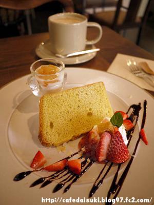 PARTS-C CAFE◇苺のバニラシフォン
