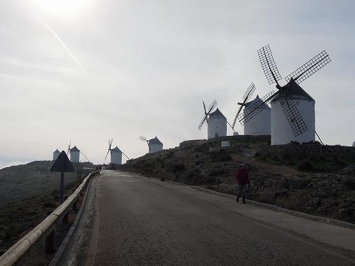 風車が並ぶ