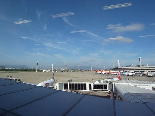 ヒオ・ジ・ジャネイロ到着。サルバドールに乗継待ち中。