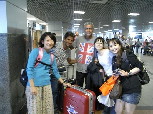 サルバドール着いた!写真を撮れる余裕が嬉しい。