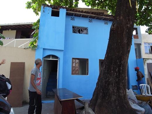 わ~わ~わ~。casaは入口が3つ。道場。住居。1階貸し部屋。