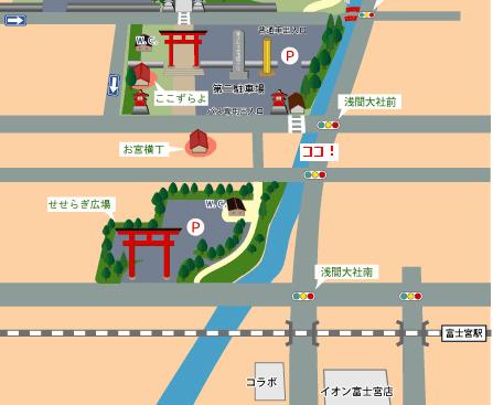 富士宮アクション集会マップ