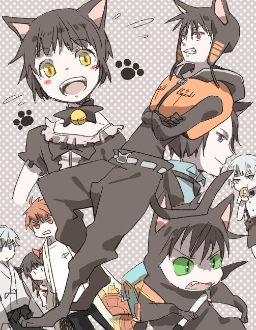 黒猫段位テスト