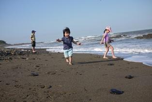 海 波がきたpart2-120505