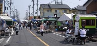 道の市 イベント風景120602