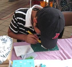 キララ祭り 彫るワークショップ-3-120804