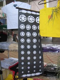 キララ祭り テラピィ レンコン手ぬぐい120805