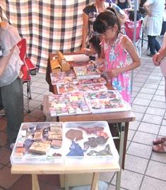 キララ祭り 捺す体験120805