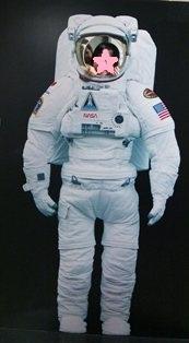 JAXA 宇宙飛行士に変身121013paint