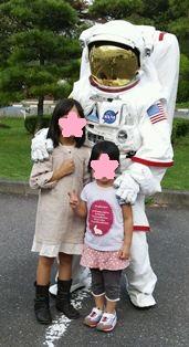JAXA 宇宙飛行士さんと121013paint